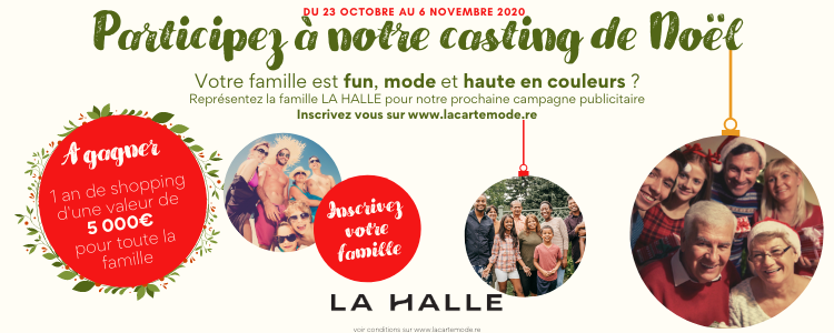 Cating LA HALLE - v newsletter